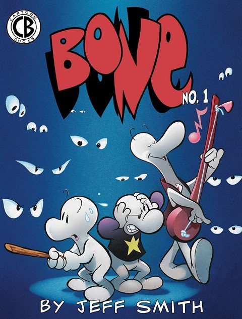 Bone #1 – 55 (Color Edition) + One Volume Edition (BW)