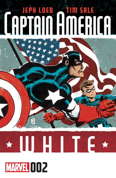 Captain America – White #2