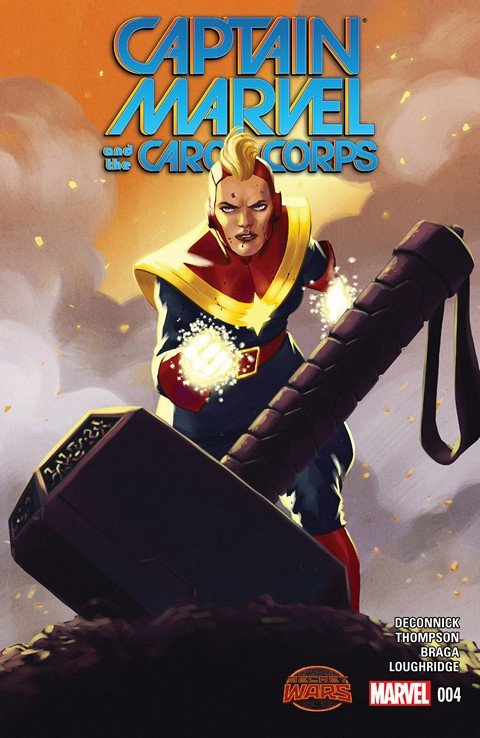 Captain Marvel and the Carol Corps #4