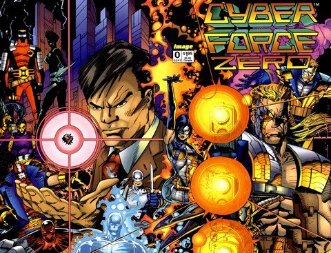 Cyberforce Vol. 1 – 4