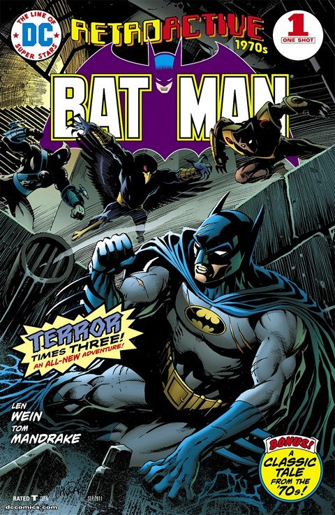 DC Retroactive – Batman (The '70s, The '80s, The '90s)