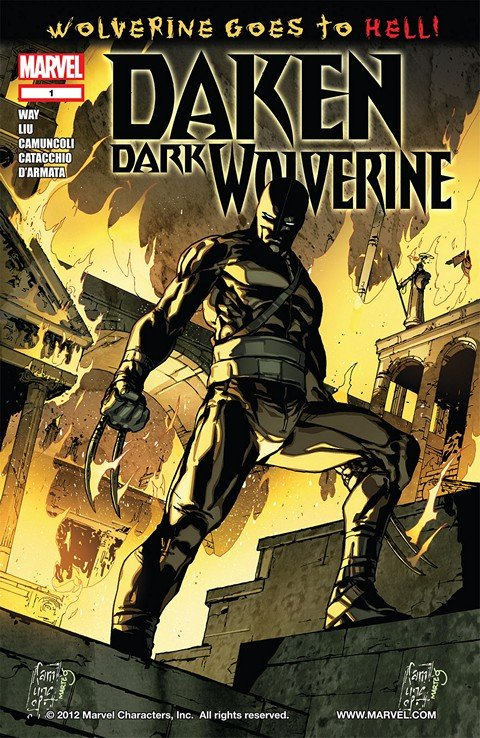Daken – Dark Wolverine #1 – 23 (2010-2012)