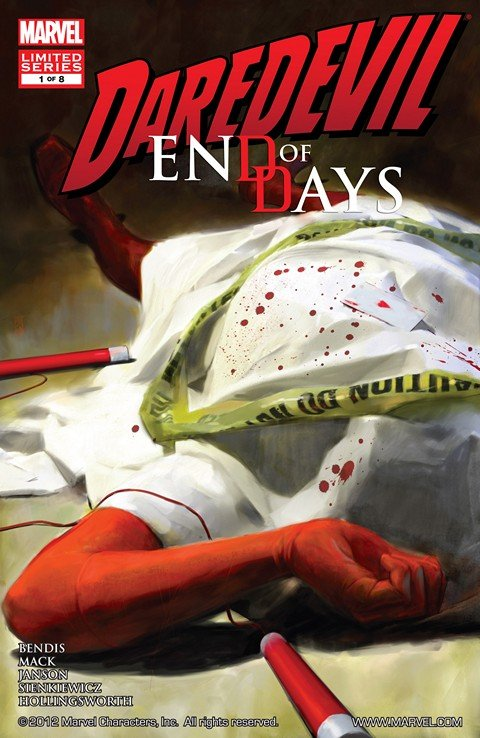 Daredevil – End of Days #1 – 8