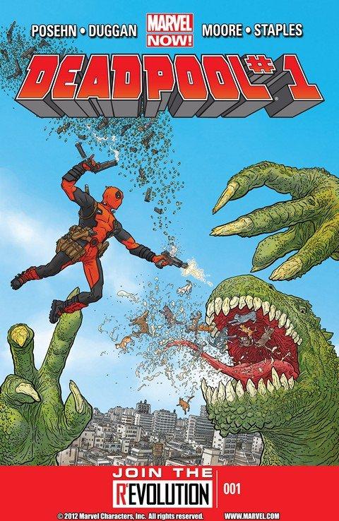 Deadpool Vol. 3 #1 – 45 + Extras