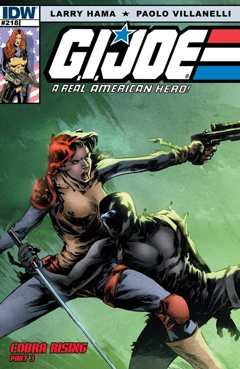 G.I. Joe – A Real American Hero #218