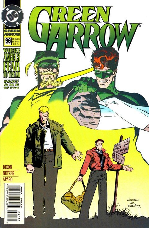 Green Arrow – Where Angels Fear To Tread