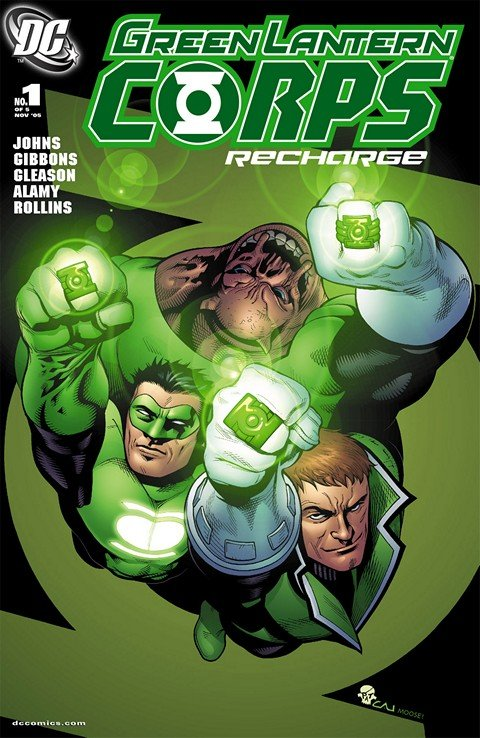 Green Lantern Corps – Recharge #1 – 5 + TPB (2005-2006)