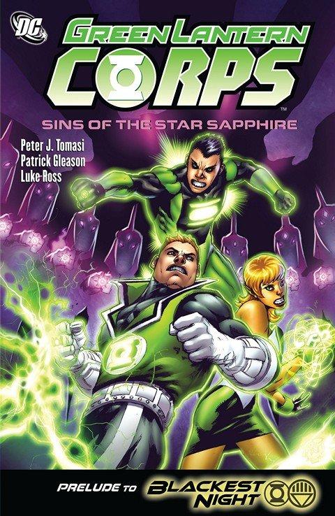 Green Lantern Corps – Sins Of The Star Sapphire (TPB) (2009)