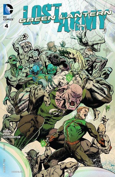 Green Lantern – Lost Army #4