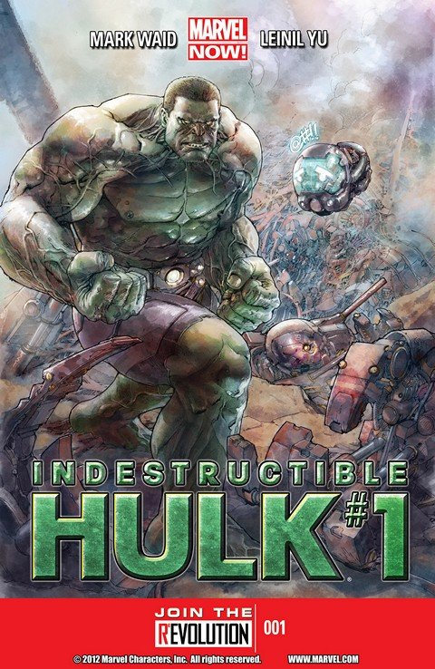 Indestructible Hulk Vol. 1 #1 – 20 + Extras