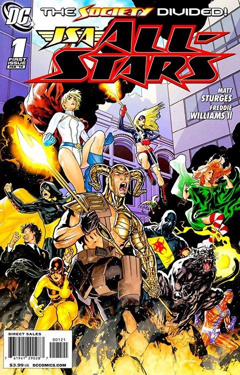 JSA – All-Stars #1 – 18