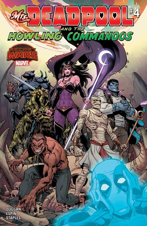 Mrs. Deadpool and the Howling Commandos #4