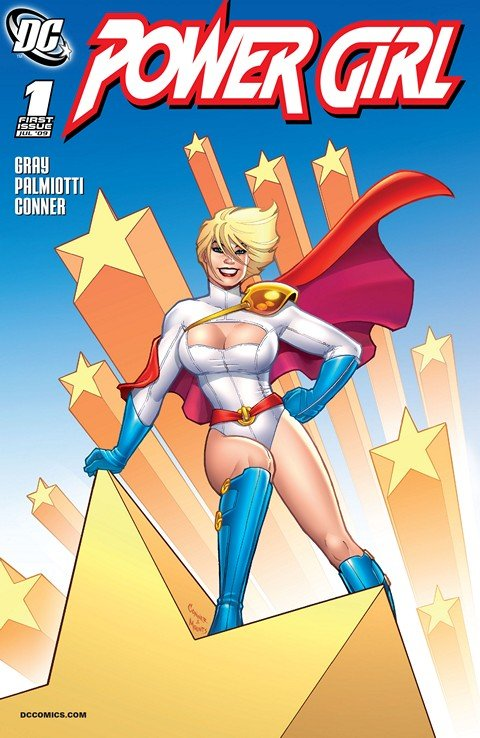 Power Girl Vol. 2 #1 – 27 + Power Trip (2007-2014)