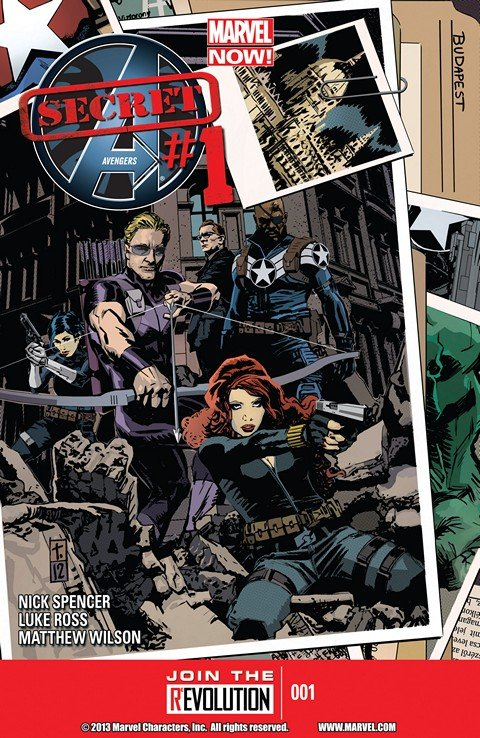 Secret Avengers Vol. 2 #1 – 16