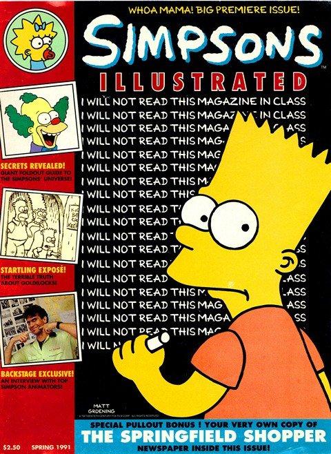 Simpsons Illustrated #1 – 9