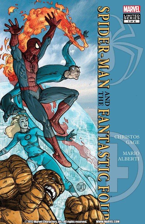 Spider-Man-Fantastic Four #1 – 4 (2010)