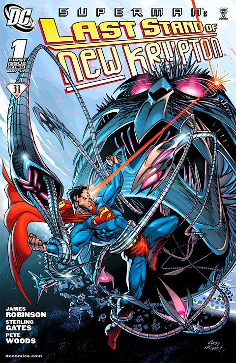 Superman – Last Stand of New Krypton #1 – 3