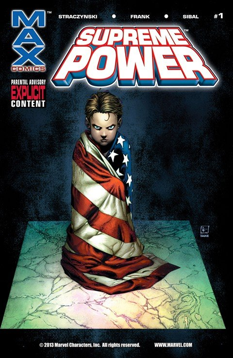 Supreme Power #1 – 18 (2003-2005)