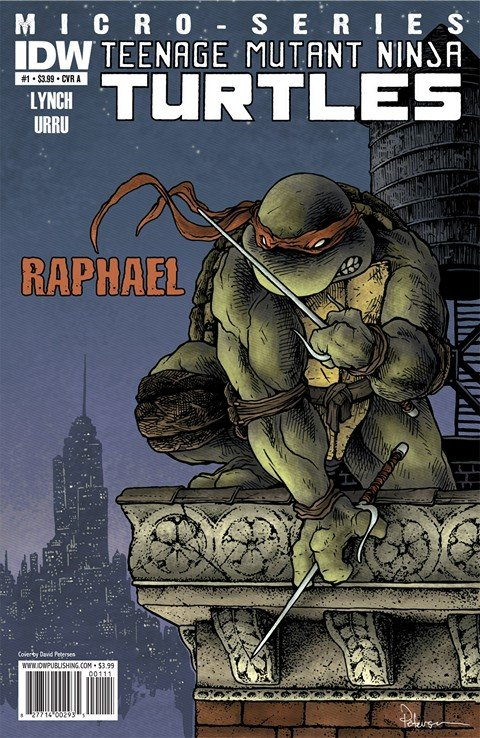 Teenage Mutant Ninja Turtles Micro-Series #1 – 8