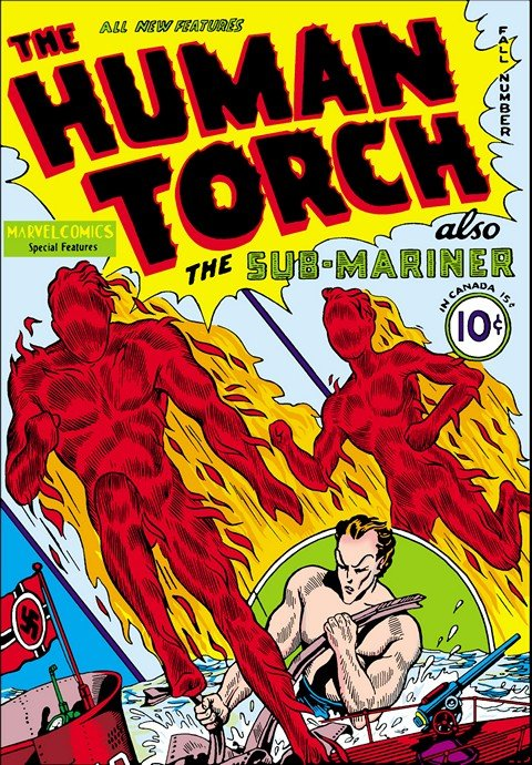 The Human Torch #1 – 38 (1940-1954)