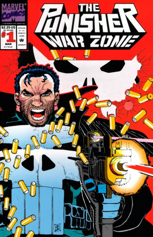 The Punisher – War Zone Vol. 1 #1 – 41 + Annual