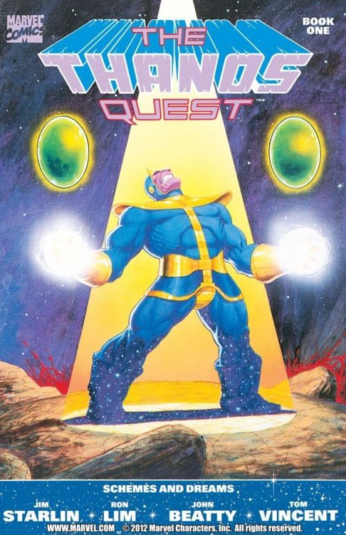 The Thanos Quest #1 – 2