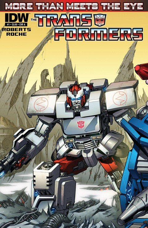 The Transformers – More Than Meets the Eye #1 – 44 + Annual
