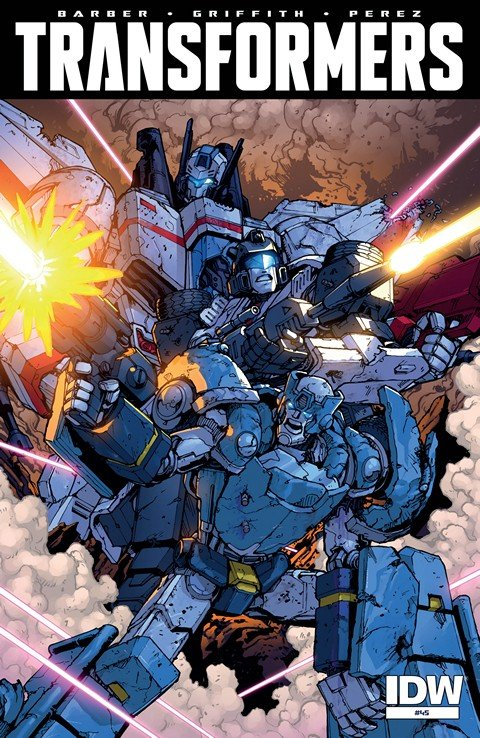 The Transformers + Robots in Disguise #1 – 45 + Annual