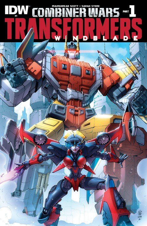 The Transformers – Windblade #1 – 7