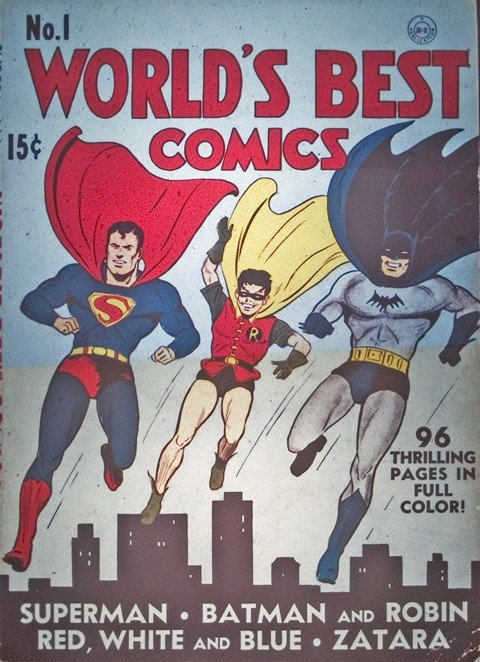 Worlds Finest Vol. 1 #2 – 323 + World's Best #1 (1941-1986)