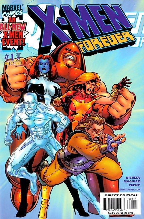 X-Men Forever #1 – 6 (2001)