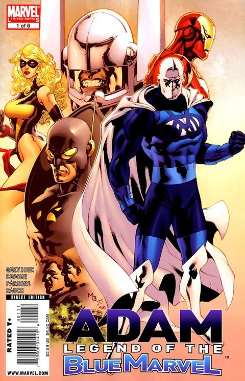 Adam – Legend of the Blue Marvel #1 – 5