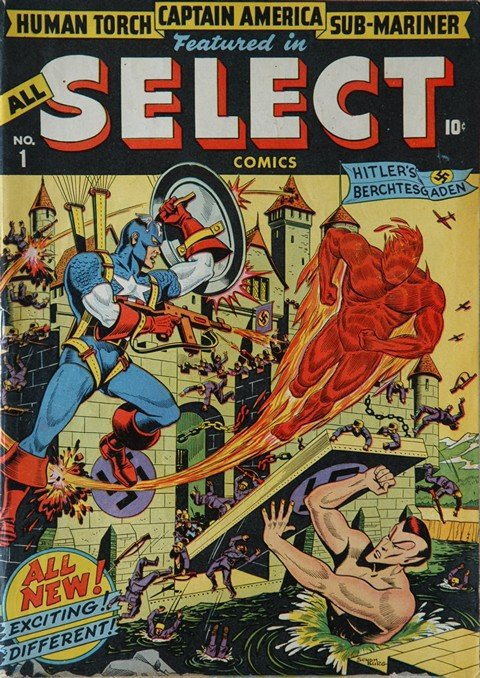 All Select Comics #1 – 11 + Blonde Phantom #12 – 22