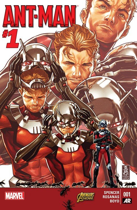 Ant-Man #1 – 5 + Scott Lang (TPB)