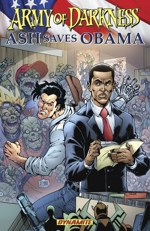 Army Of Darkness Ash Saves Obama (TPB)