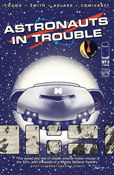 Astronauts In Trouble #1 – 5 (2015)