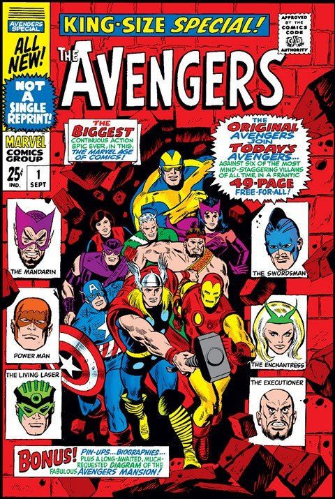 Avengers Annuals #1 – 23 & 1998 – 2001 (1967-2001)