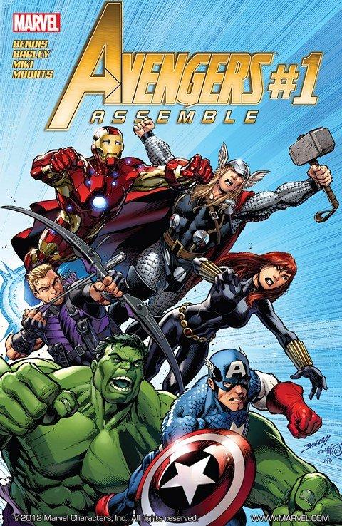 Avengers Assemble #1 – 25 + Extras