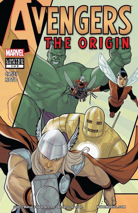 Avengers – The Origin #1 – 5