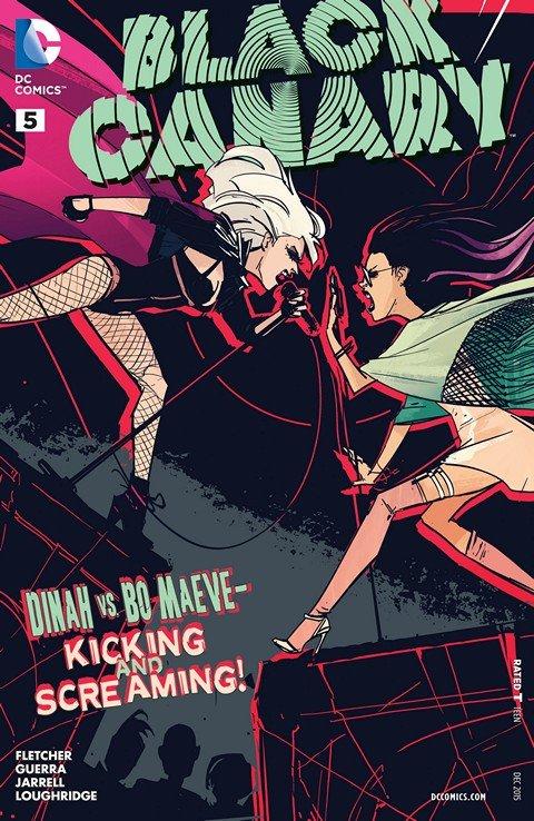 Black Canary #5