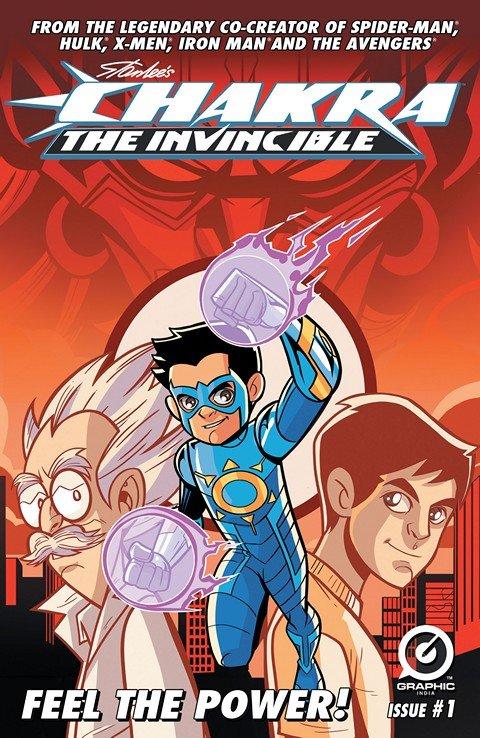 Chakra The Invincible #1 – 3 + FCBD