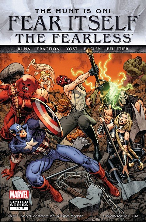 Fear Itself – The Fearless #1 – 12 + TPB