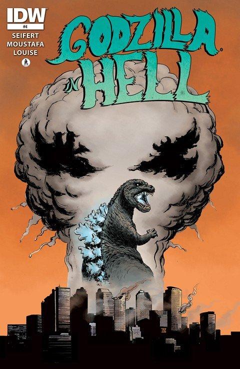 Godzilla In Hell #4