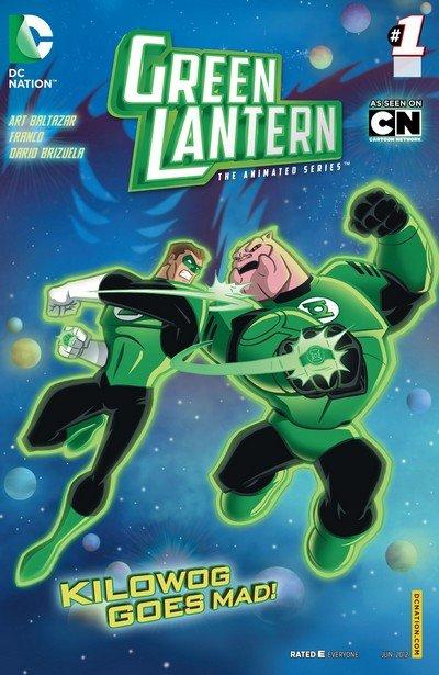 Green Lantern – The Animated Series #0 – 14 (2012-2013)