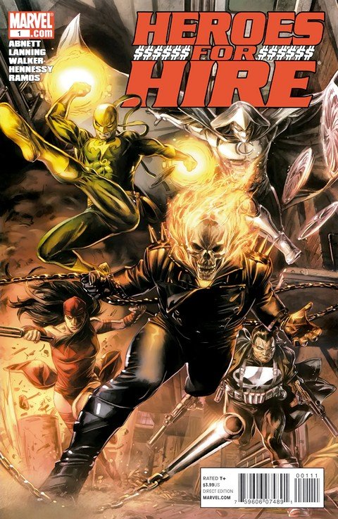Heroes for Hire Vol. 3 #1 – 12 (2011)