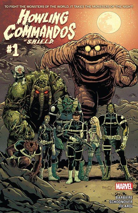 Howling Commandos Of S.H.I.E.L.D. #1 – 6 (2015-2016)