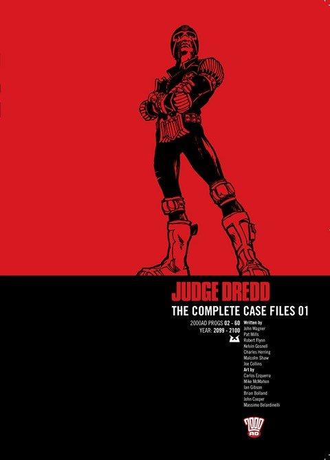 Judge Dredd – The Complete Case Files Vol. 1 – 28 (2006-2016)