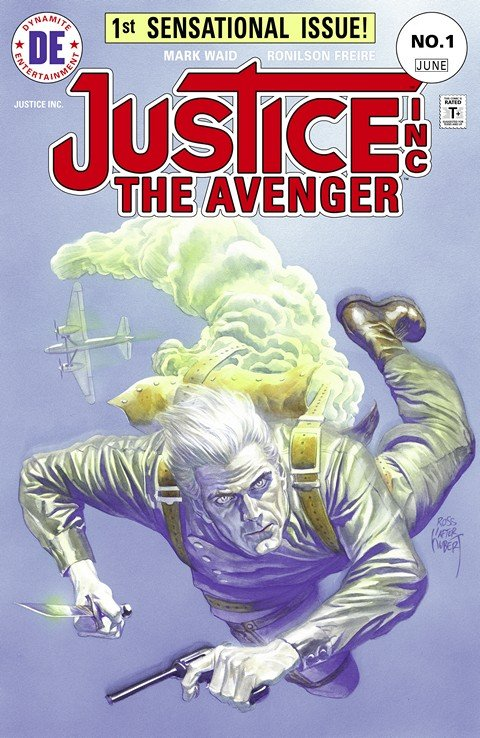 Justice, Inc. – The Avenger #1