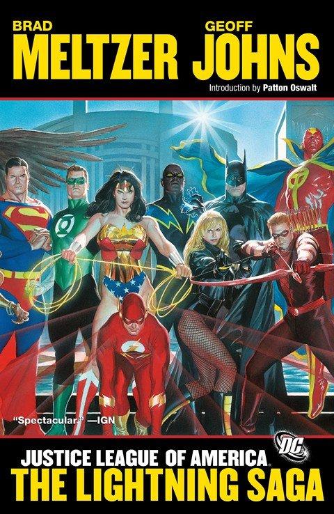 Justice League of America Vol. 2 – The Lightning Saga (2008)
