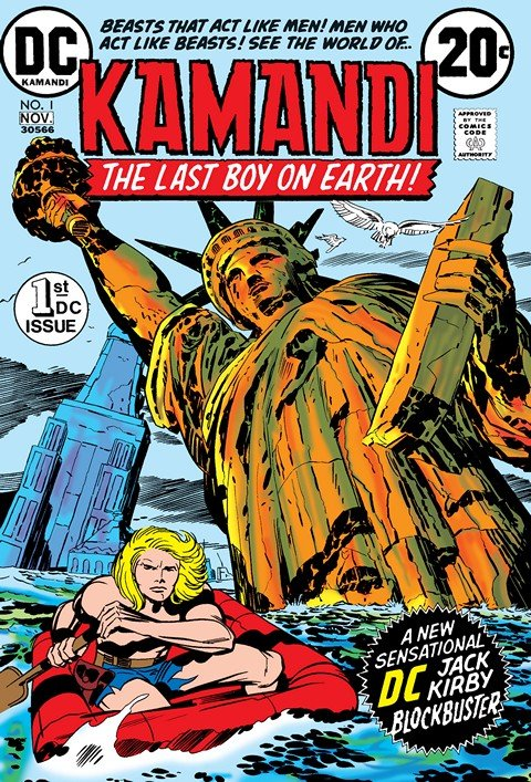 Kamandi – The Last Boy on Earth #1 – 27